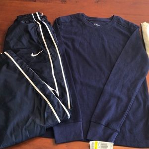 NWT Epic Threads Thermal (M)/ Nike Pants (L)